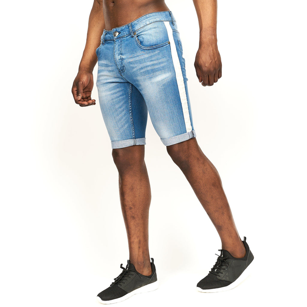 Playmore Denim Shorts Light Wash
