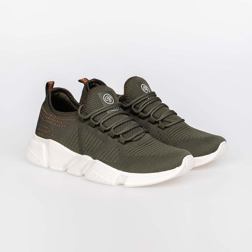 Wingard Trainers Olive