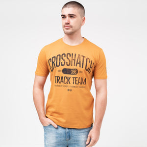 Crosgrove T-Shirt S / Burnt Orange T-Shirts