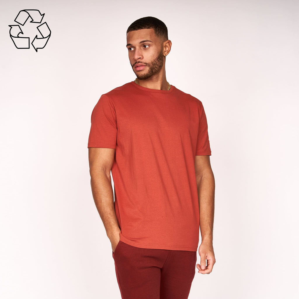 Kranatise T-Shirt Barn Red Crew