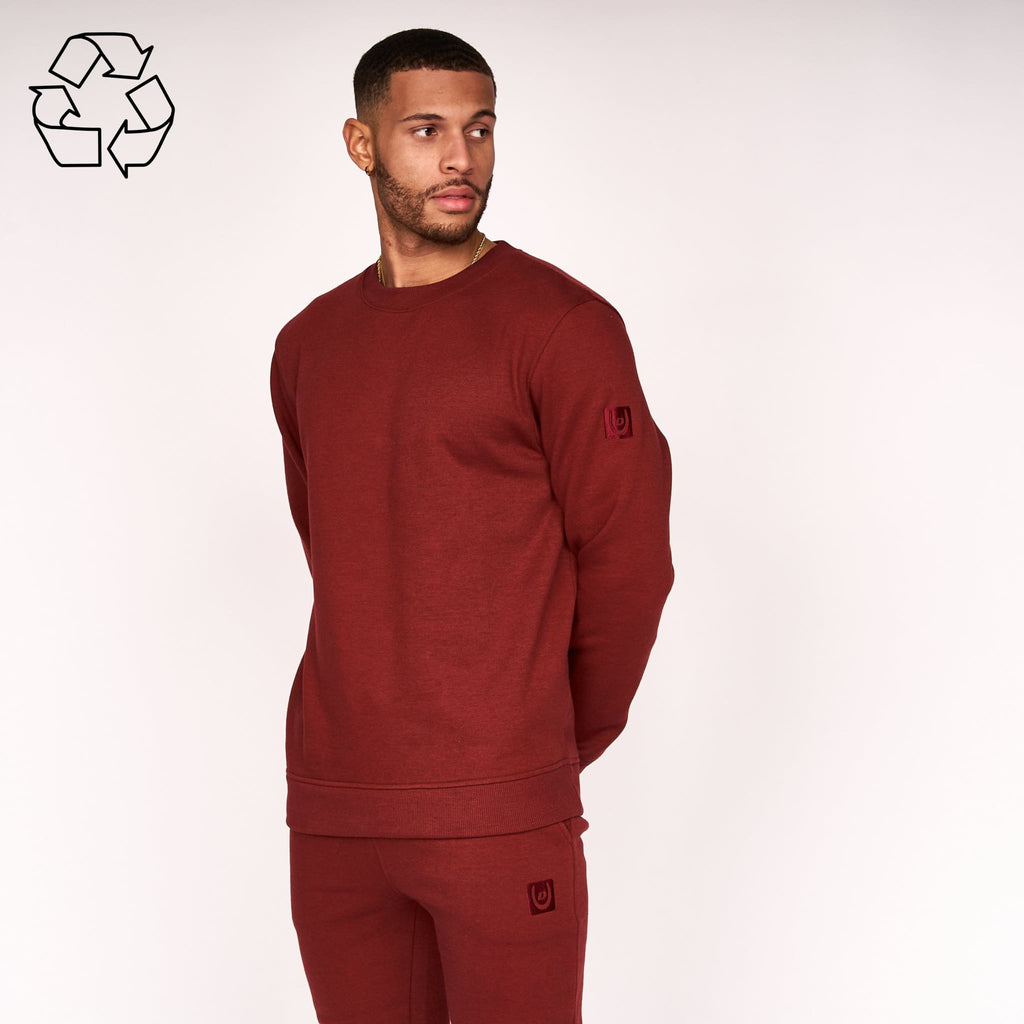 Felaweres Sweat Russet Brown Crew