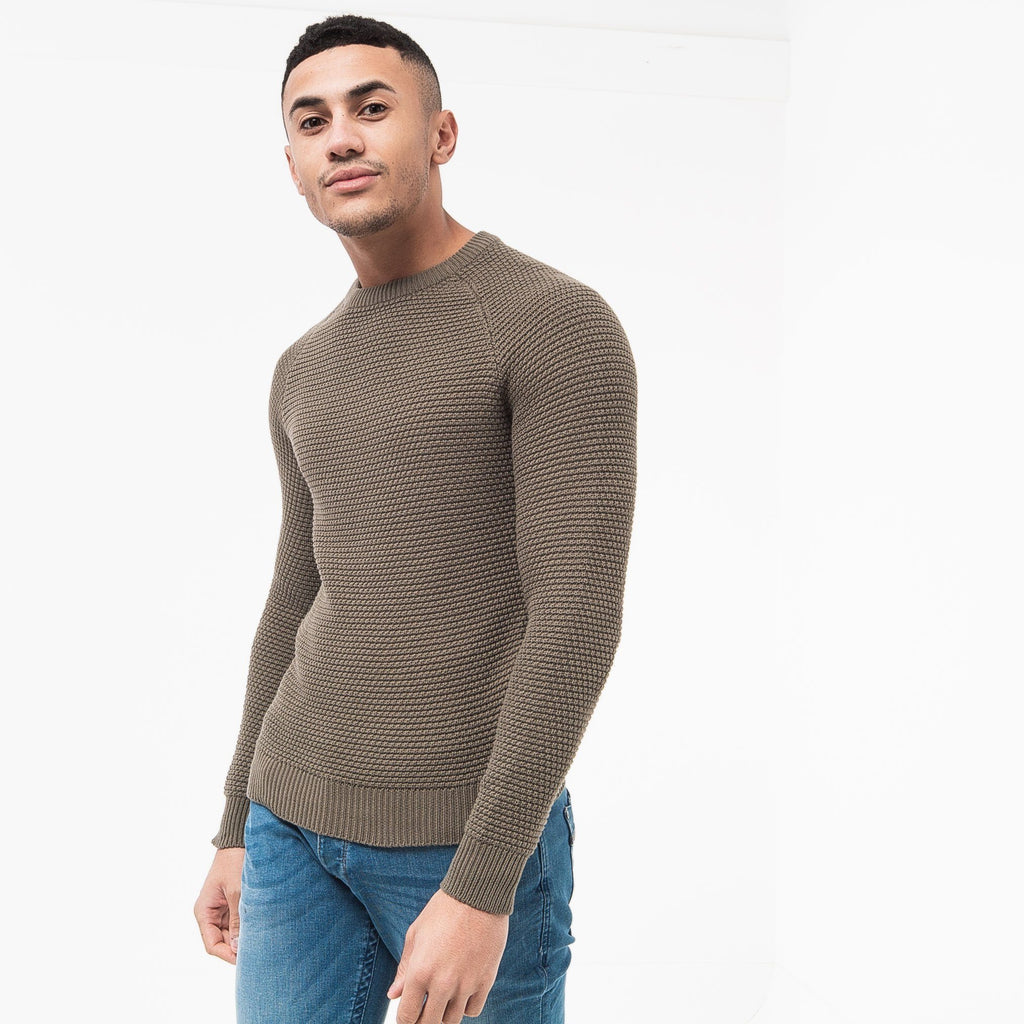 Kermer Knit S / Dusty Olive Knitwear