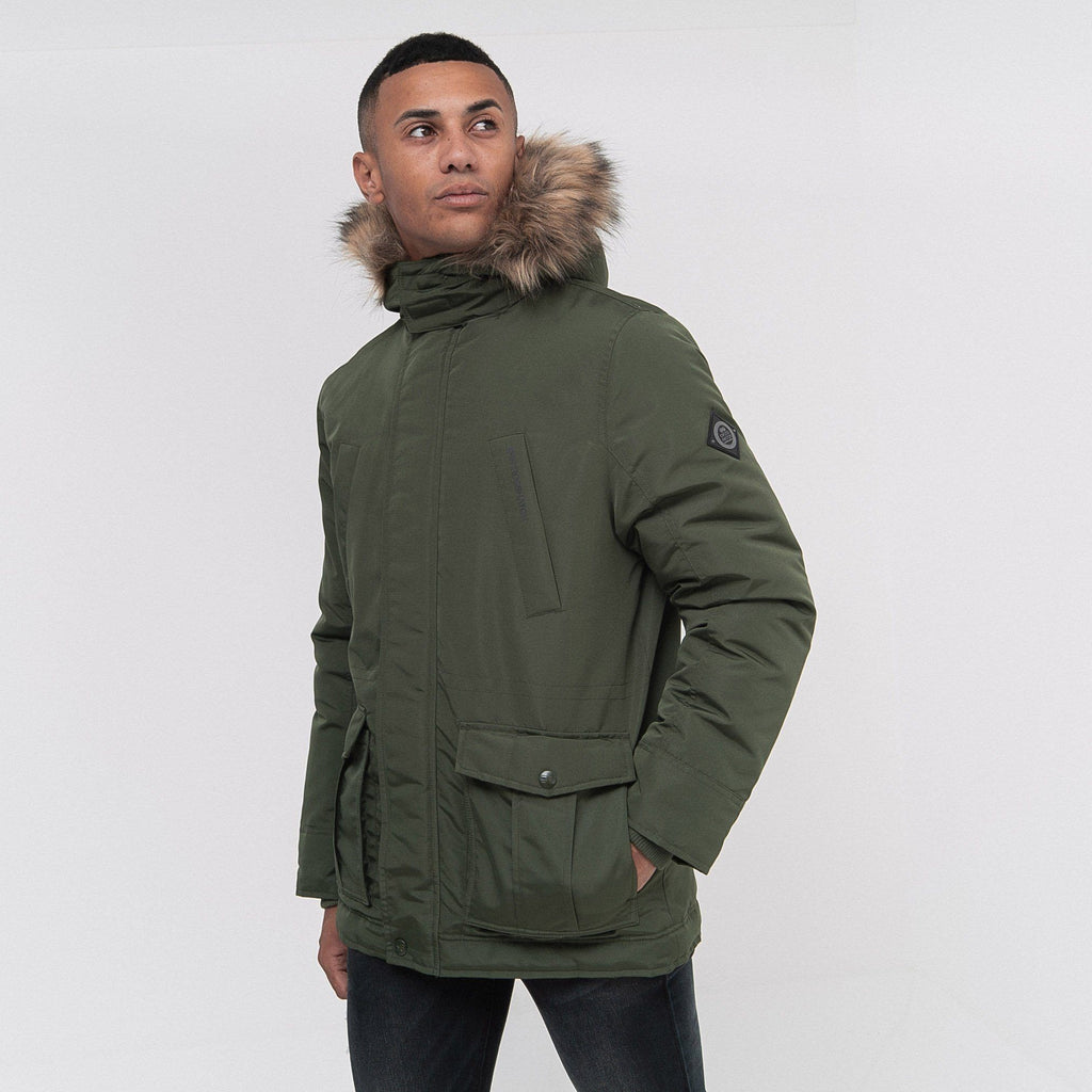 Fellflower Parka S / Forest Green Outerwear