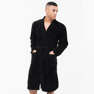 Dawn Robe - Black Underwear