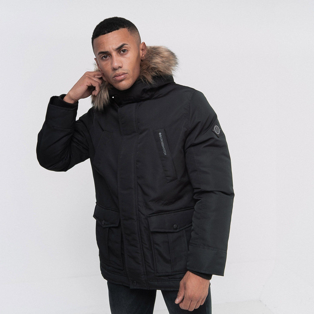 Fellflower Parka S / Black Outerwear