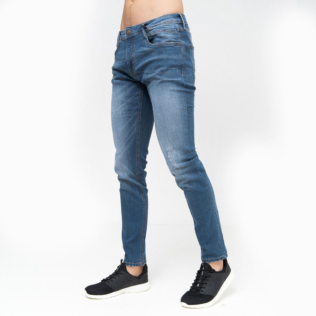 Tranfold Slim Fit Jeans Stone Wash