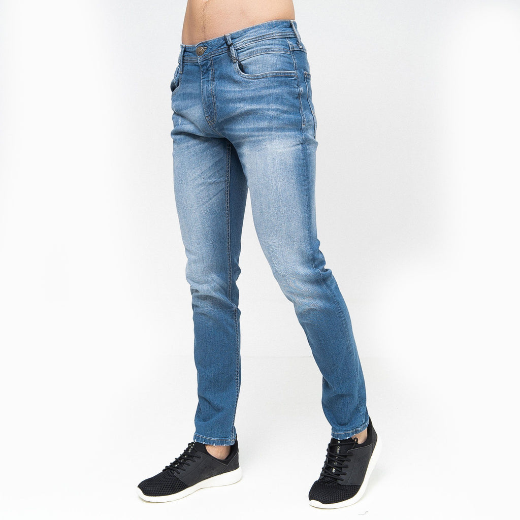 Tranfold Slim Fit Jeans Light Wash