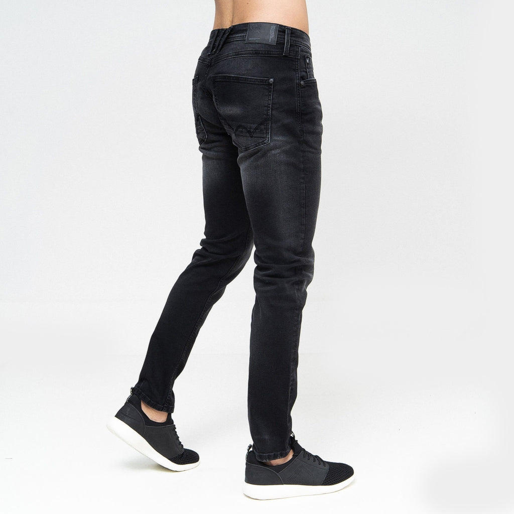 Maylead Slim Fit Jeans Black