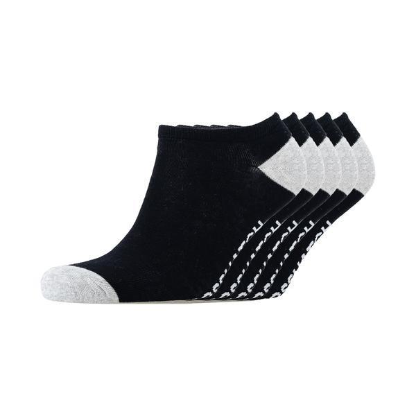 Chelms Trainer Socks 5Pk - Black Accessories