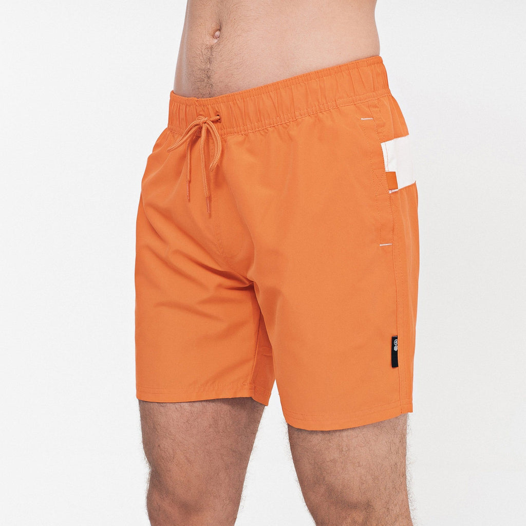 Eastfan Swim Shorts S / Orange