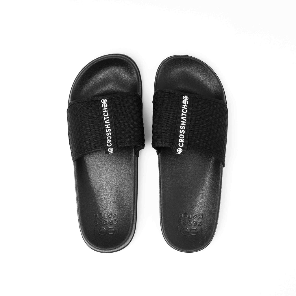 Egremni Sliders 6/7 / Black Footwear