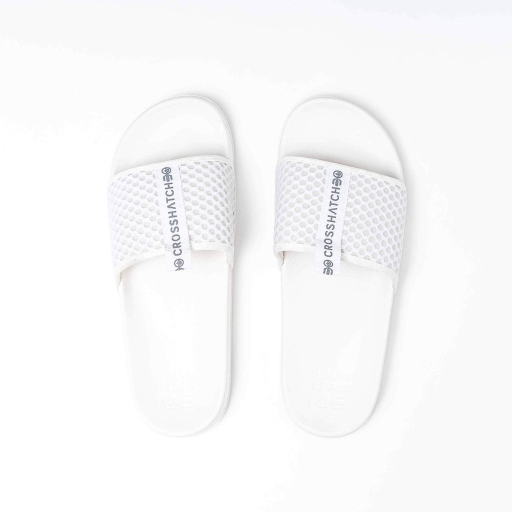 Egremni Sliders 6/7 / White Footwear