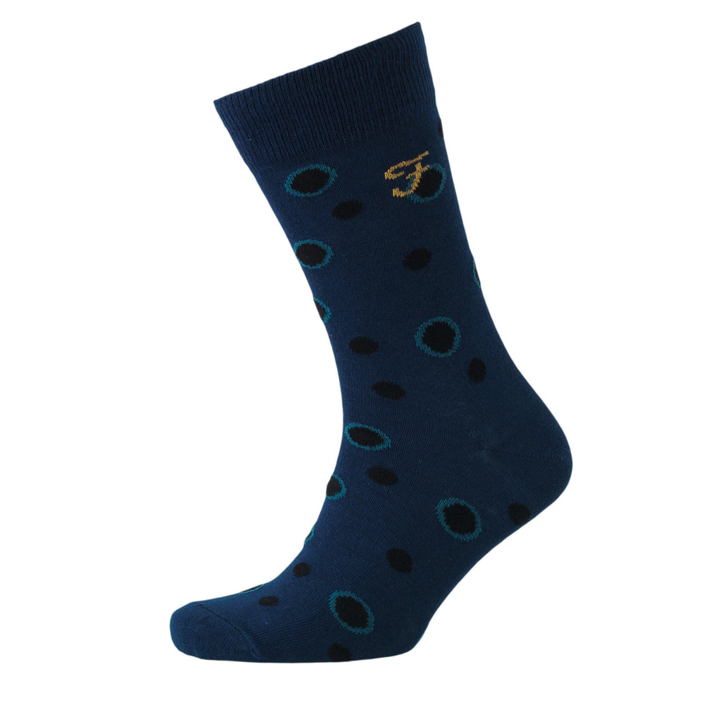 Norton Socks 3Pk - Moss Green/cornflower Blue Accessories
