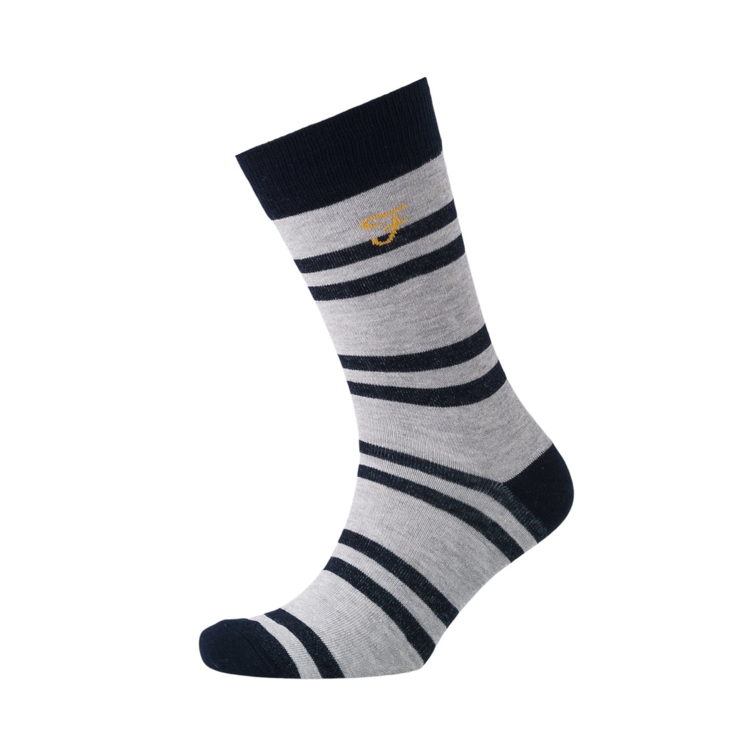 Falton Socks 3Pk - Yale Striped Pack Accessories