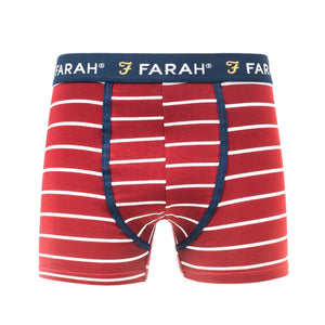 Purvis Boxers 3Pk - Yale/p.red/white Accessories