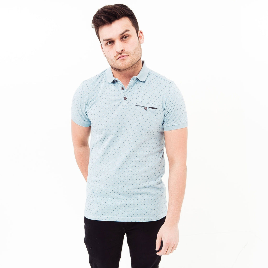 Gamby Polo S / Dusty Blue Polos
