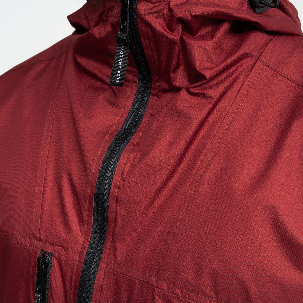 Goodman Hooded Jacket Red Dahlia Outerwear