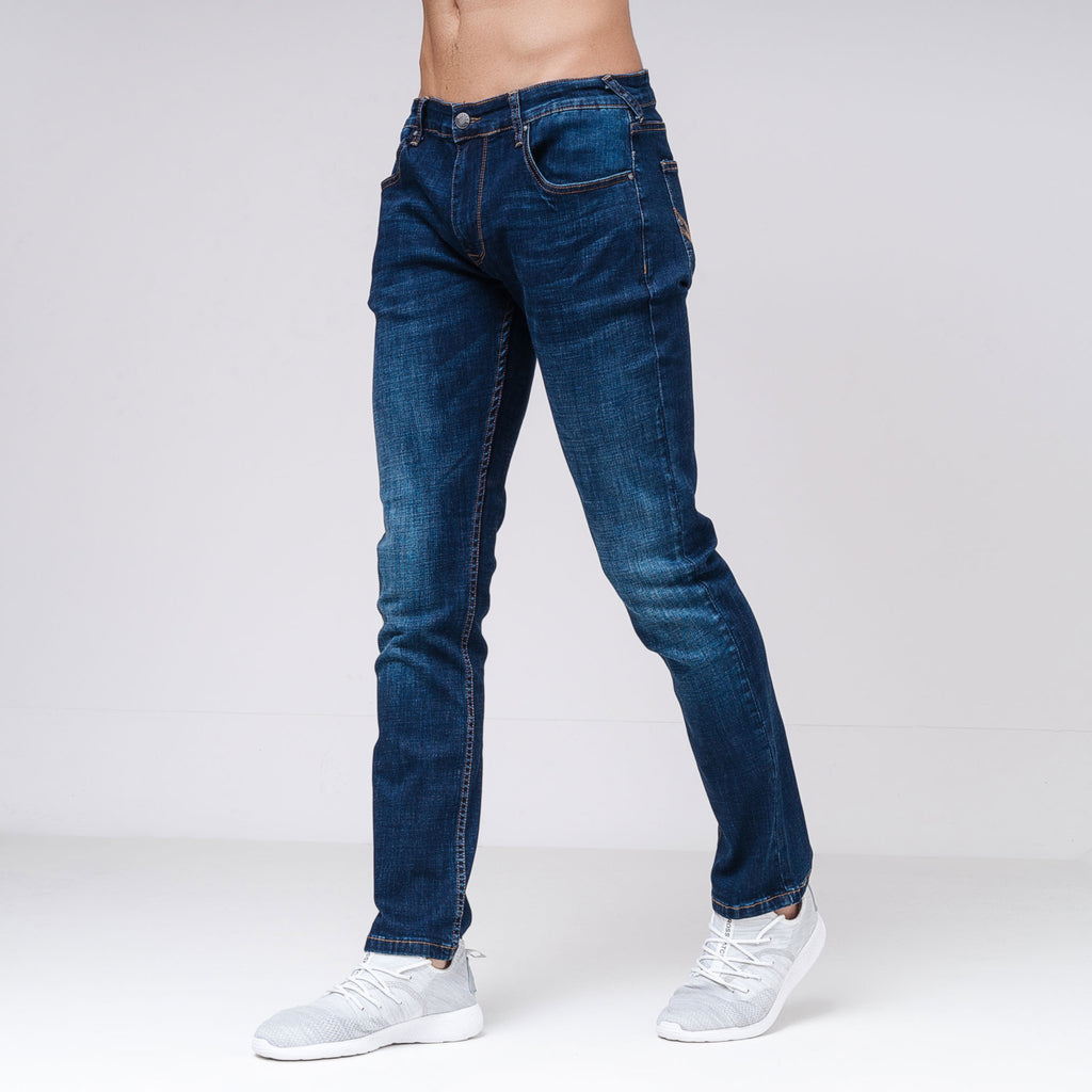Harlequin Slim Fit Jeans Dark Wash