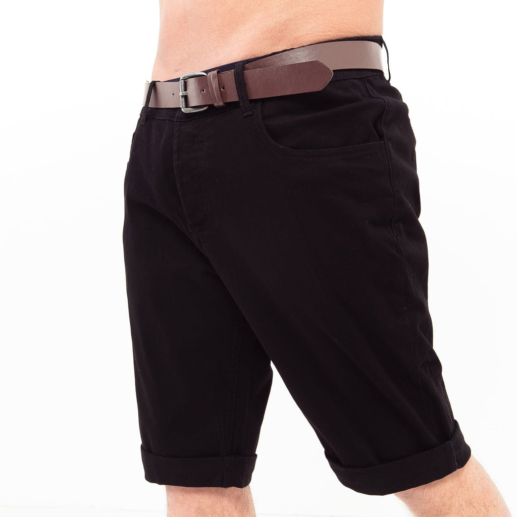 Hernsby Chino Shorts W30 / Black