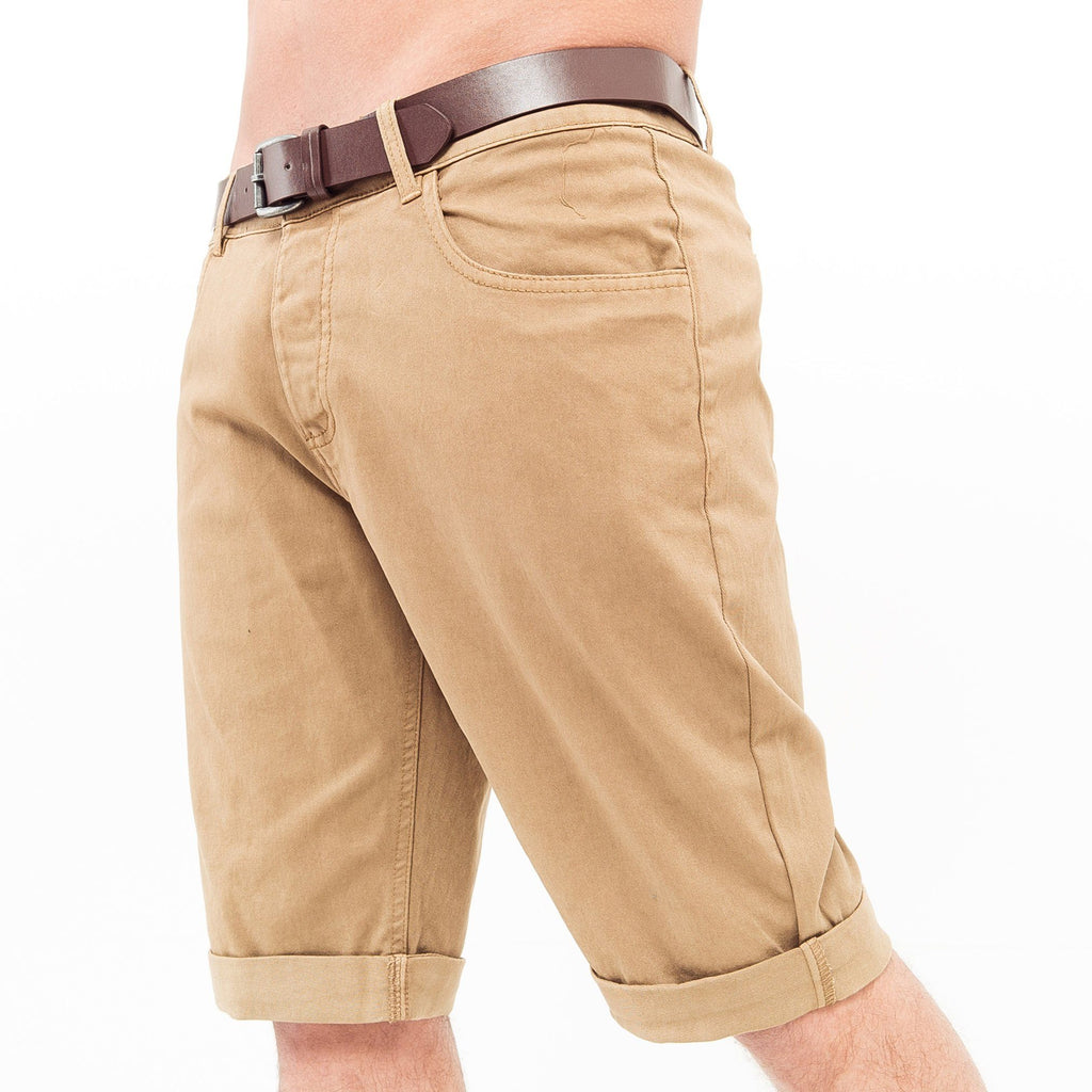 Hernsby Chino Shorts W30 / Camel