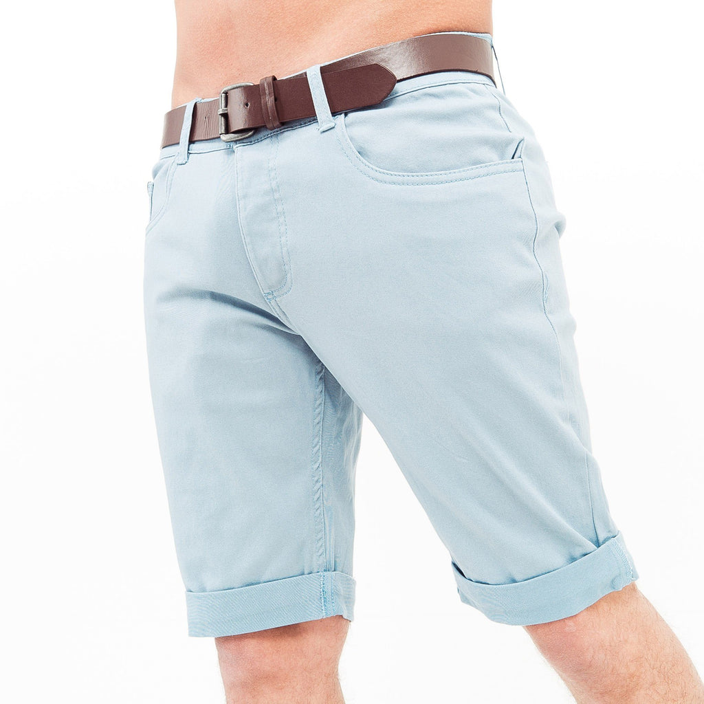 Hernsby Chino Shorts W30 / Dusty Blue
