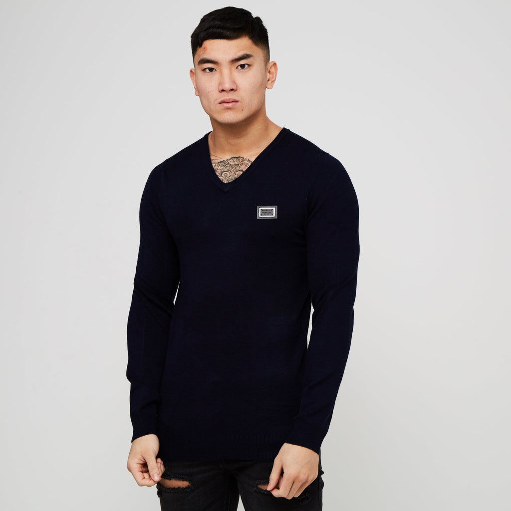 Indium Knitwear L / Sky Captain
