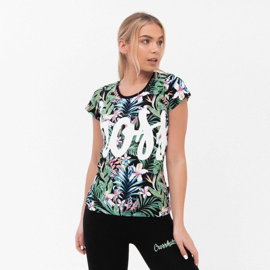 Ladies Jacquetta T-Shirt Xs / Flowers T-Shirts