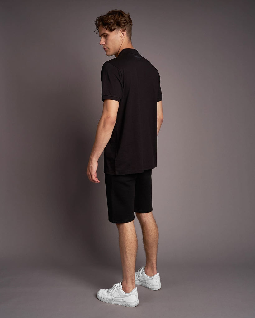 Mens Pritchard Polo Black