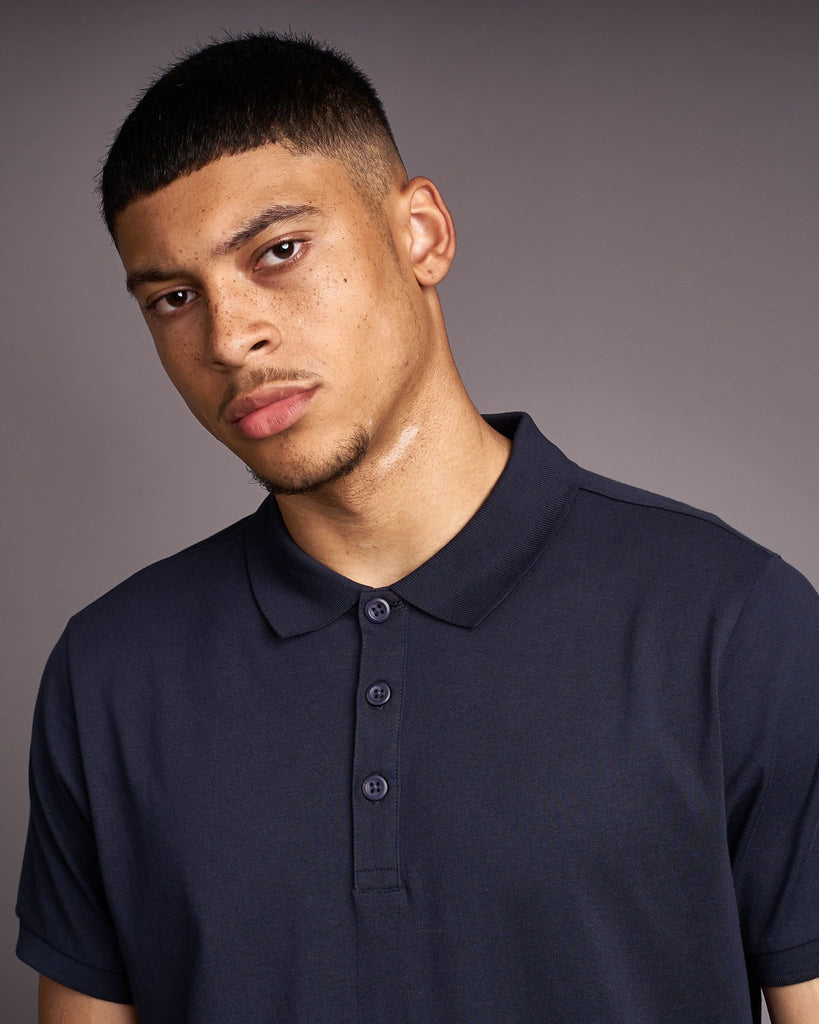 Mens Pritchard Polo Navy