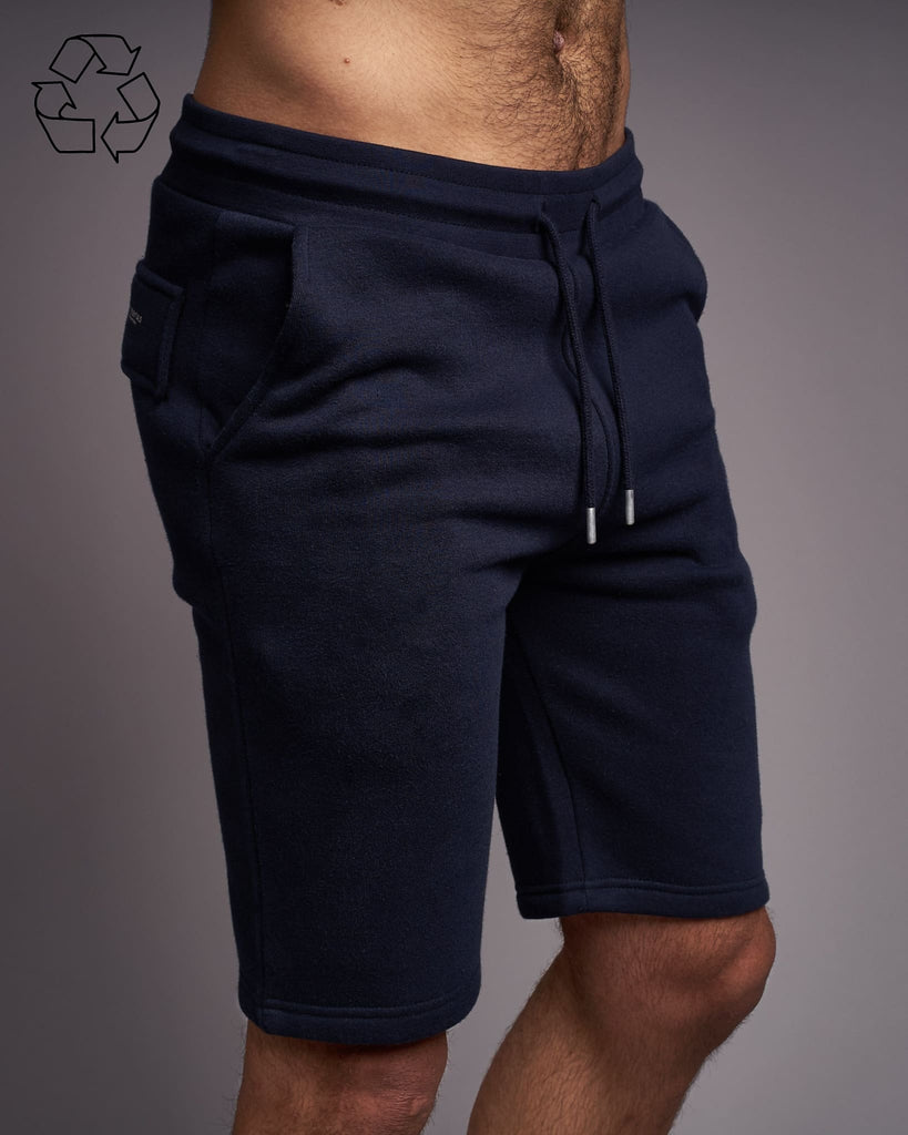 Mens Skipworth Combat Shorts Navy