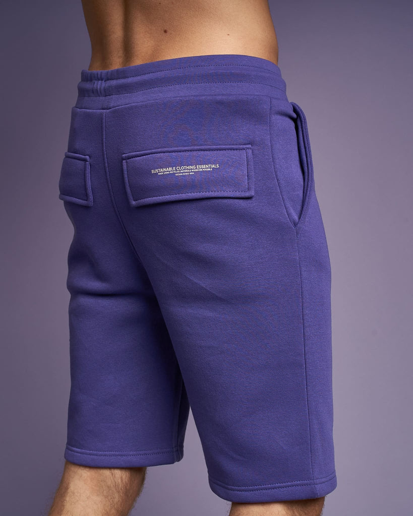Mens Skipworth Combat Shorts Purple