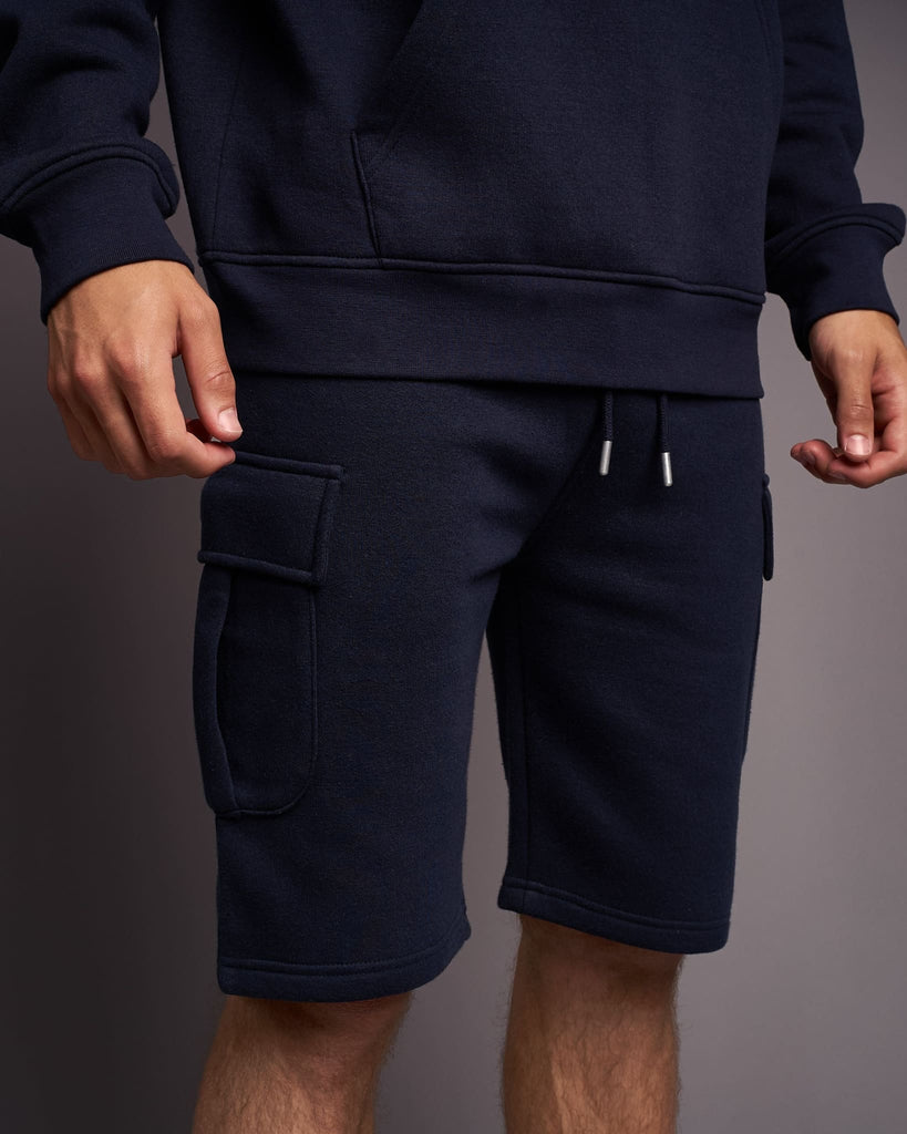 Mens Handley Combat Shorts Navy
