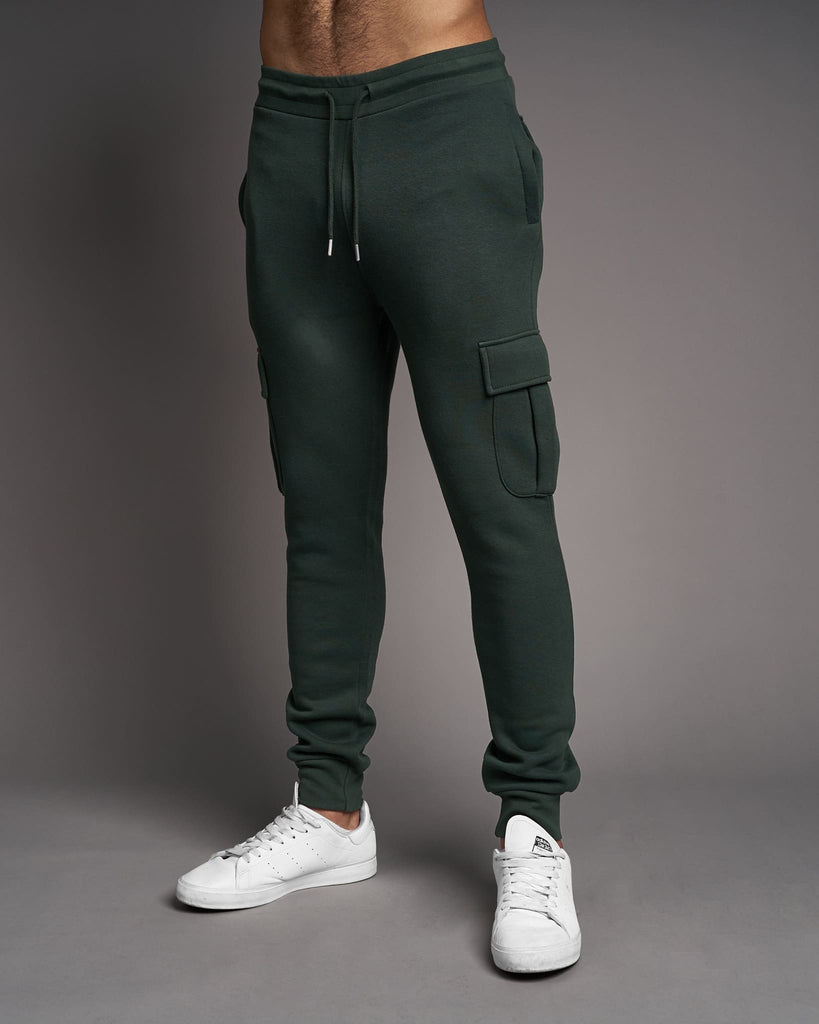 Mens Dawsons Combat Joggers Jungle Green