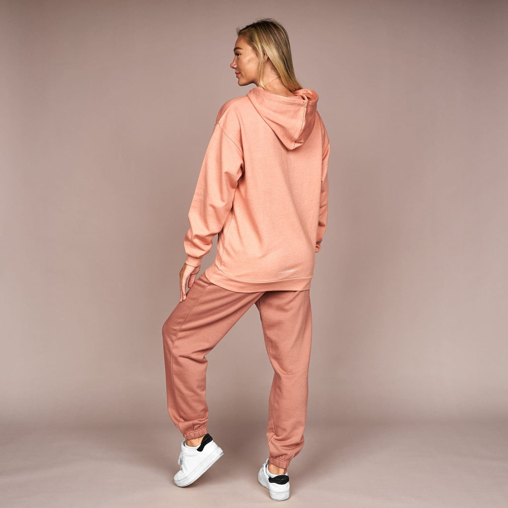 Ladies Earla Hoodie Rose Gold