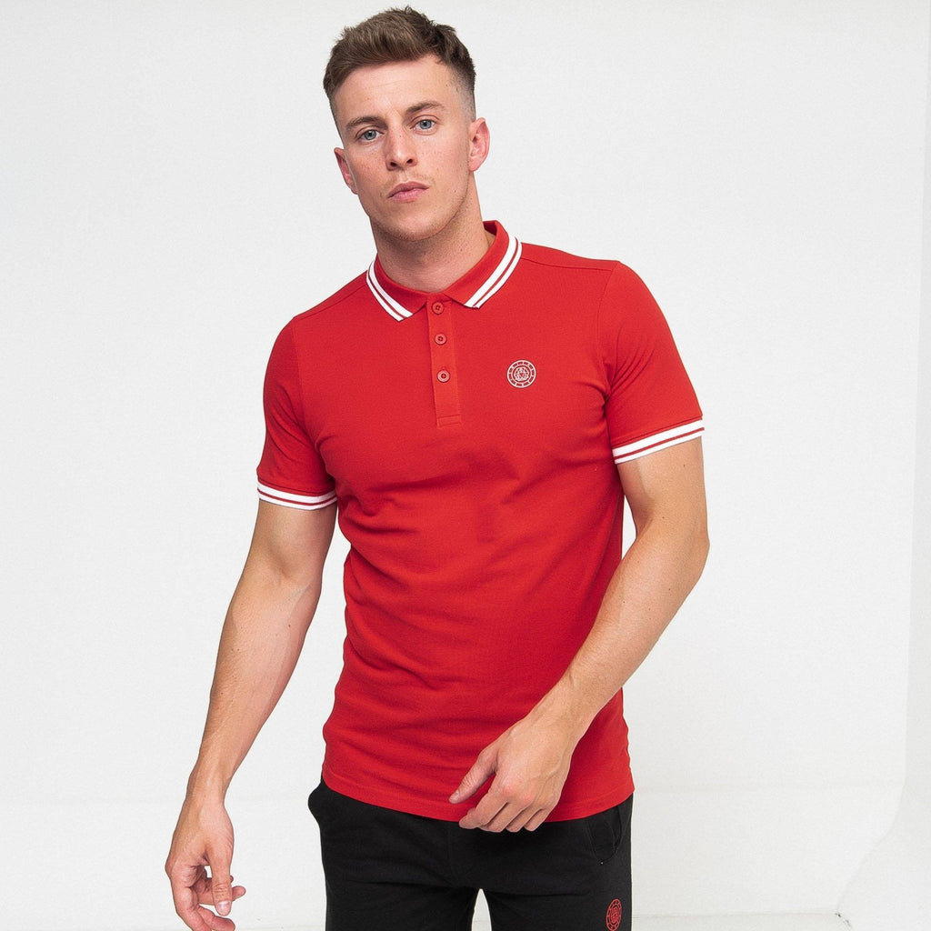 Larsen Polo True Red / S Polos