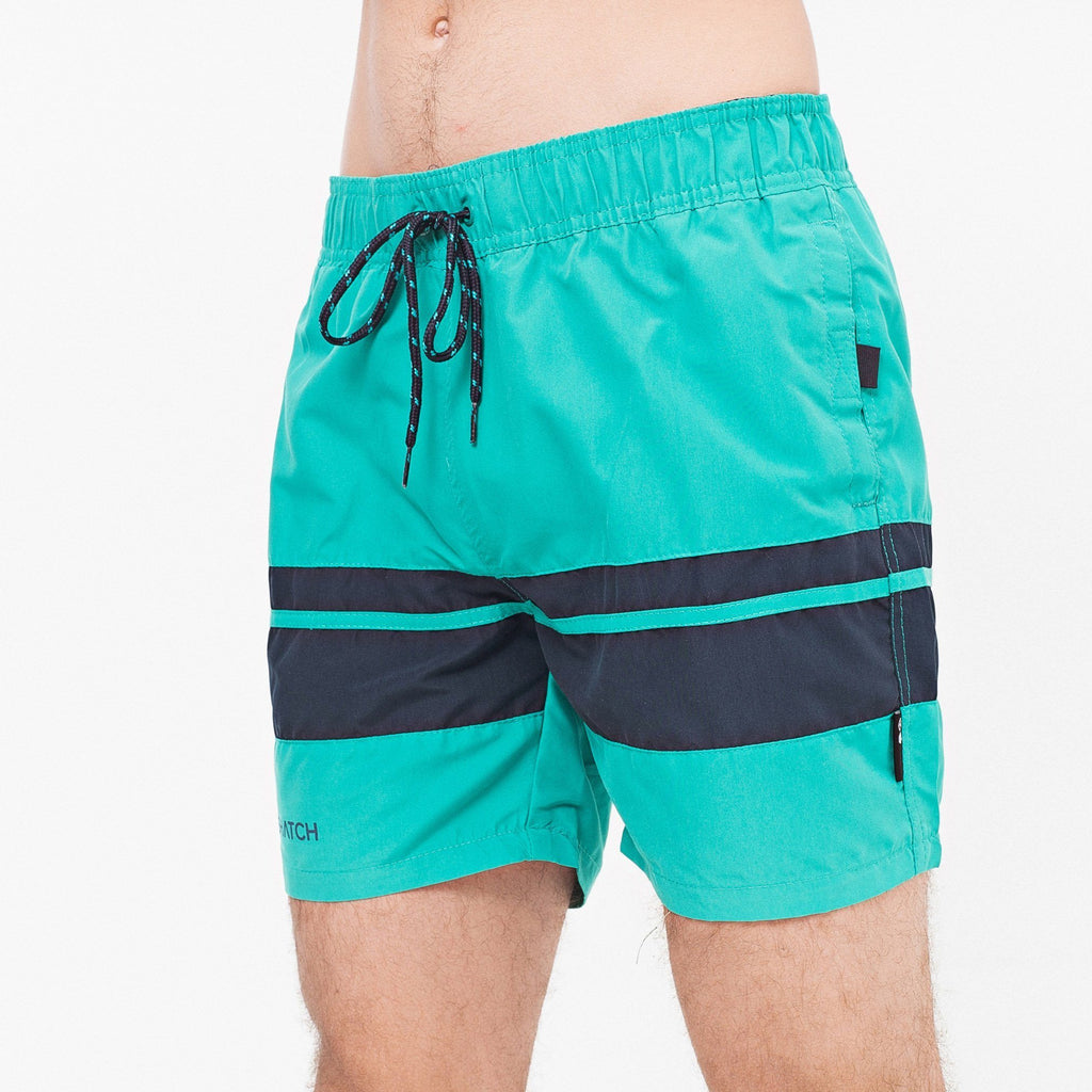 Menlink Swim Shorts S / Green