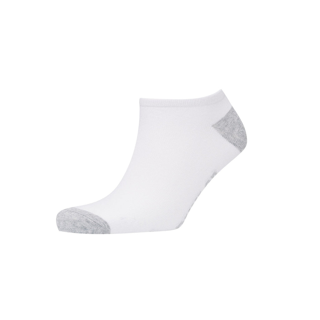 Mortehoe Trainer Socks 5Pk - Black/white/grey Accessories