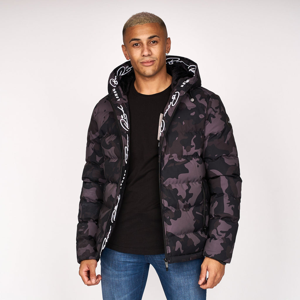 Emerton Camo Jacket Black Camo