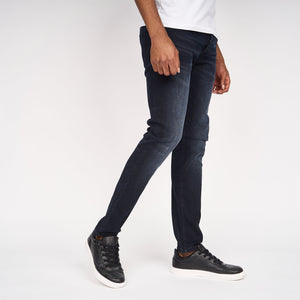 Ape Embossed Jeans Blue/Black