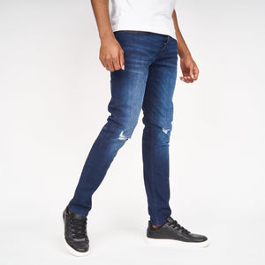 Ape Rip Jeans Dark Wash