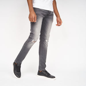 Ape Rip Jeans Light Grey