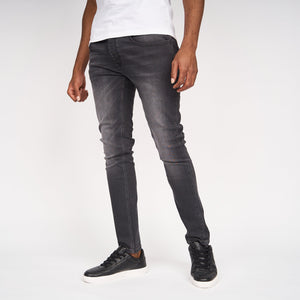 Ape Print Jeans Dark Grey