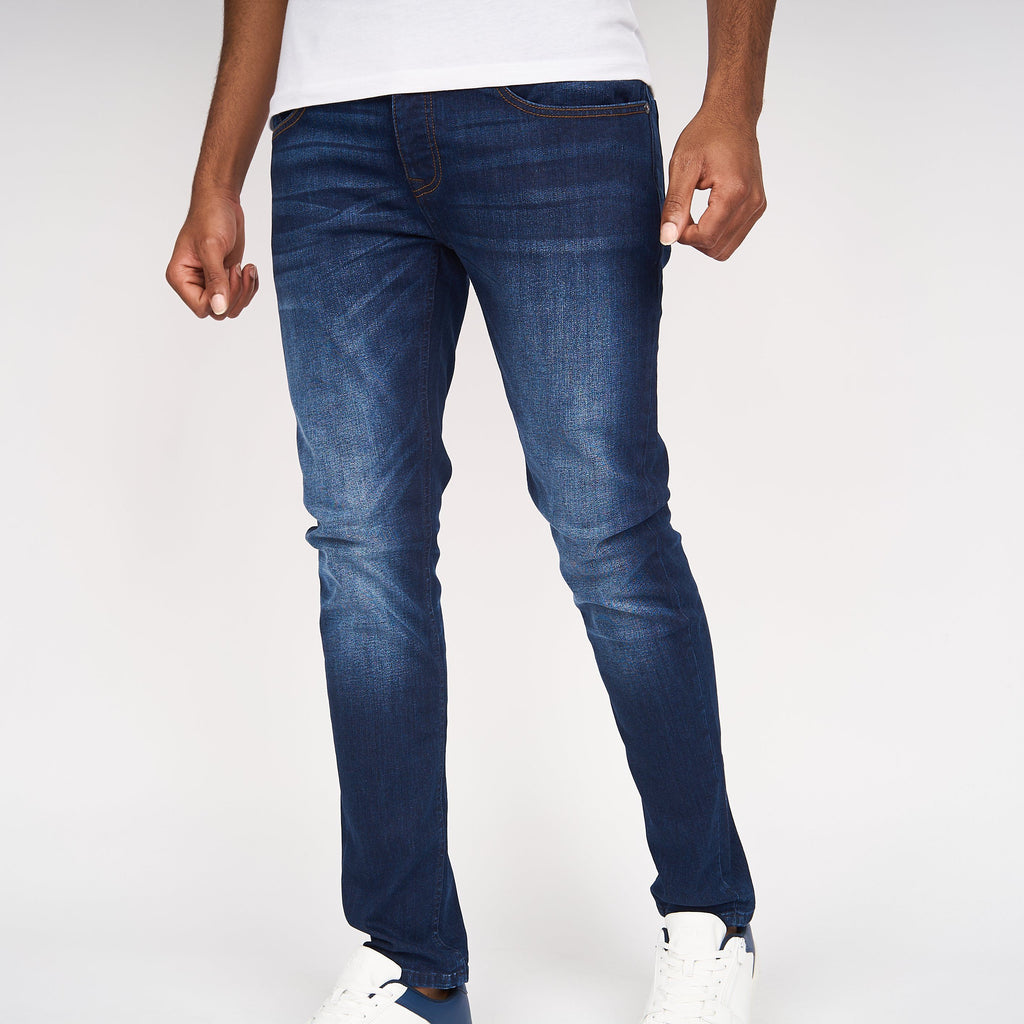 Ape Print Jeans Dark Wash