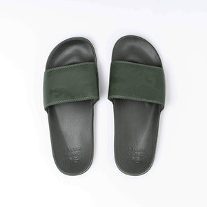 Navagio Sliders 6/7 / Dusty Olive Footwear