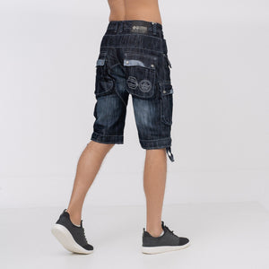 Player Shorts Dark Wash