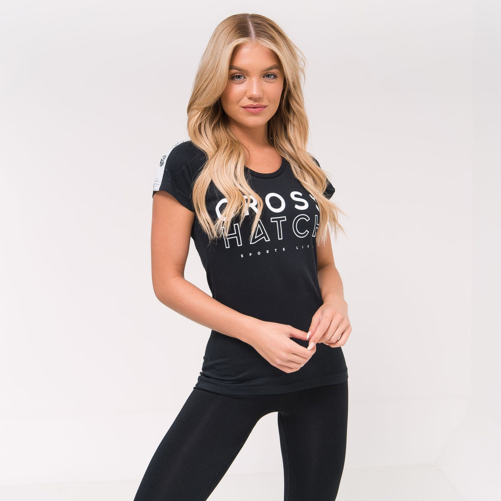 Ladies Piper T-Shirt Xs / Black Beauty T-Shirts