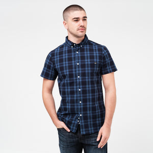 Rational Shirt S / Navy/light Blue