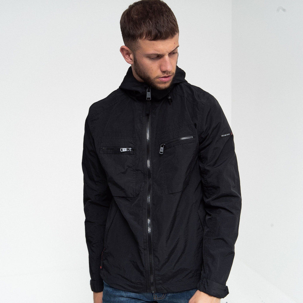 Rhombus Jacket S / Black Outerwear