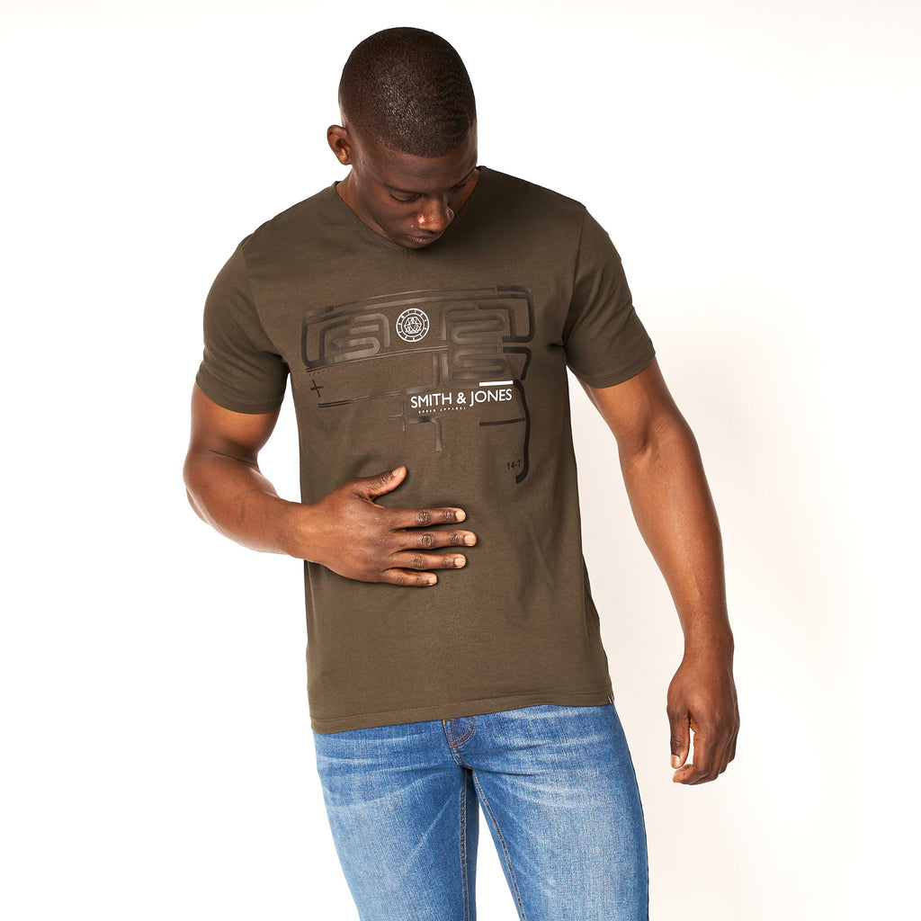 Pargus T-Shirt Peat Green