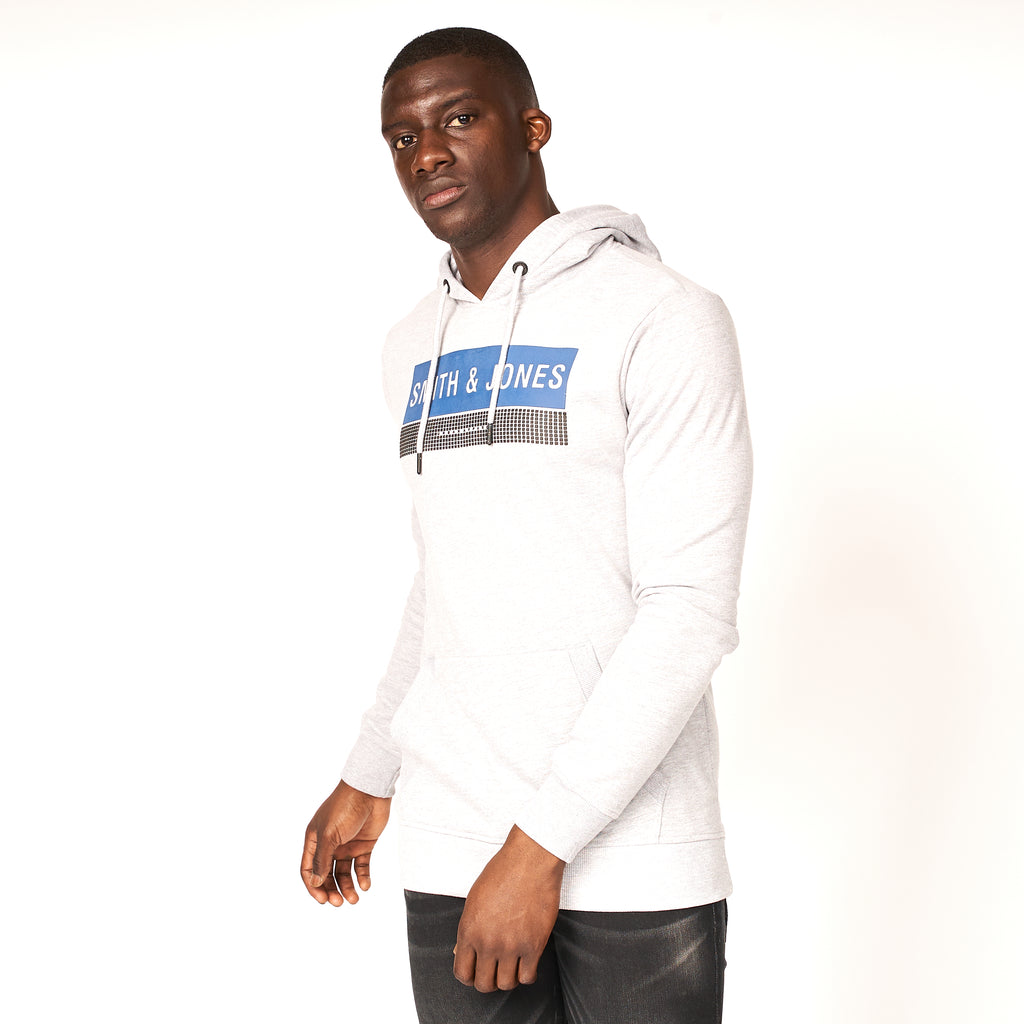 Arison Hoodie Light Grey Marl